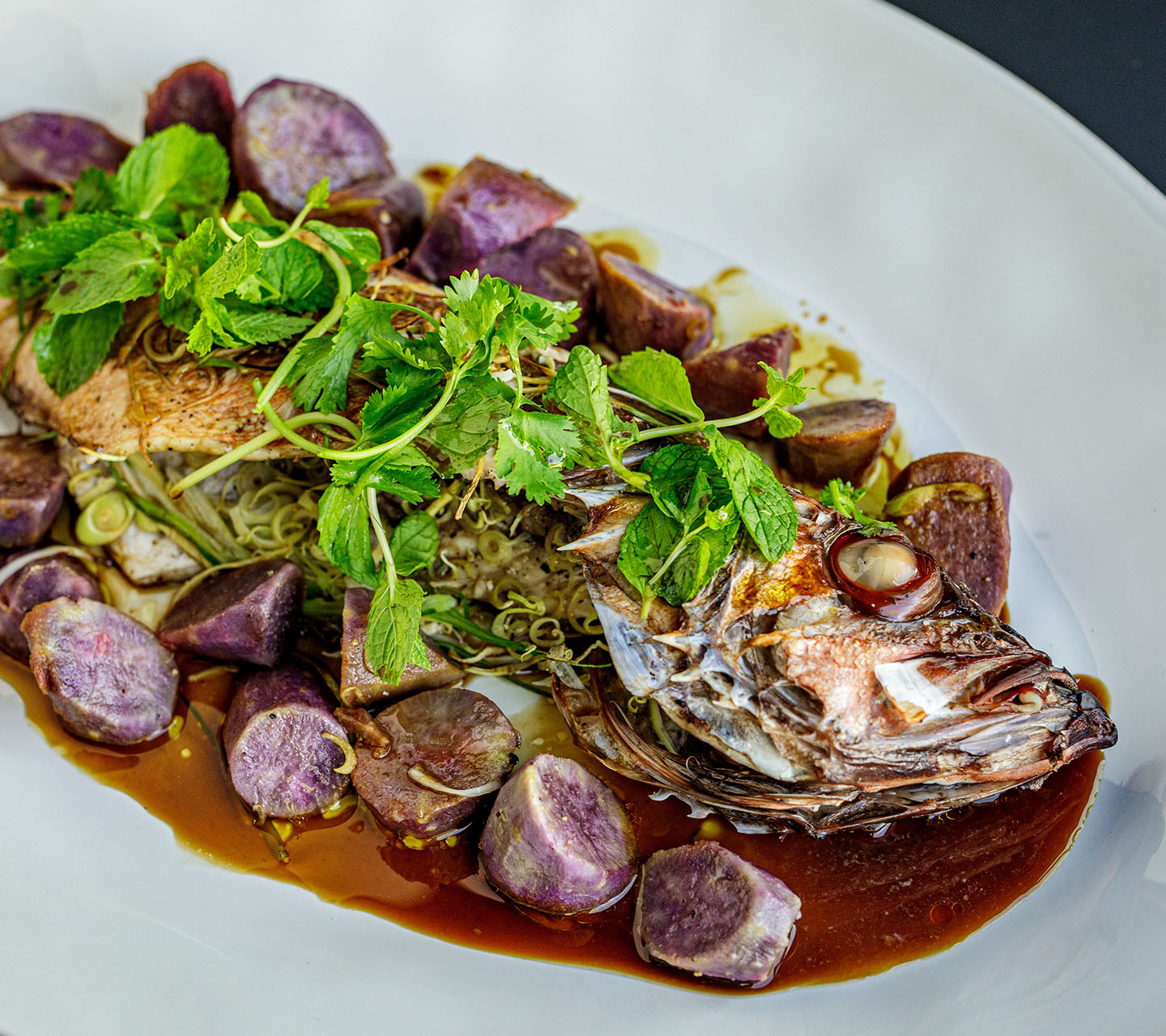 Steam Roasted Whole Fish | Signature Kitchen Suite