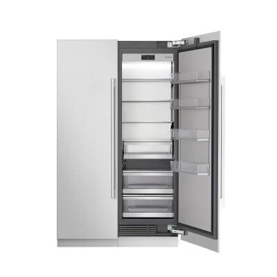 "24"" Column Refrigerator, built-in panel ready & stainless steel by Signature Kitchen Suite"