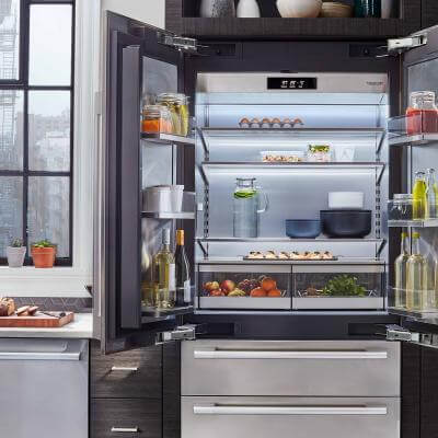 "36"" Built-in French Door Refrigerator from Signature Kitchen Suite"