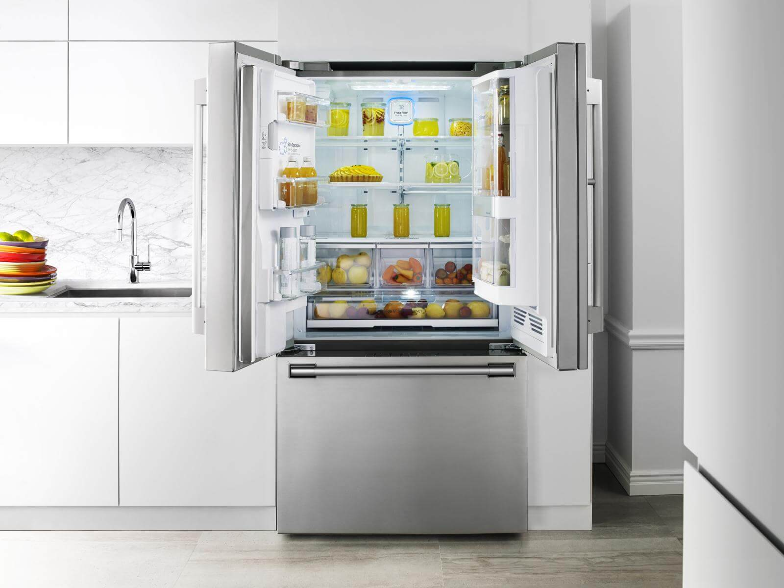 "36"" Counter-Depth French Door Refrigerator"