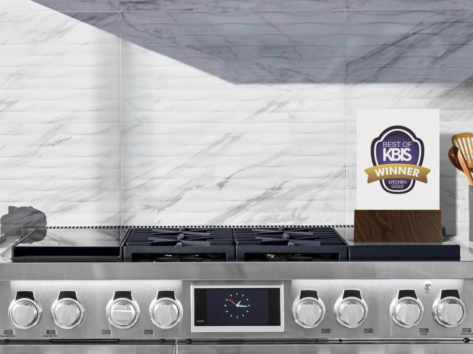 "Best of KBIS 2019 Award | 48"" Dual-Fuel Pro Range"