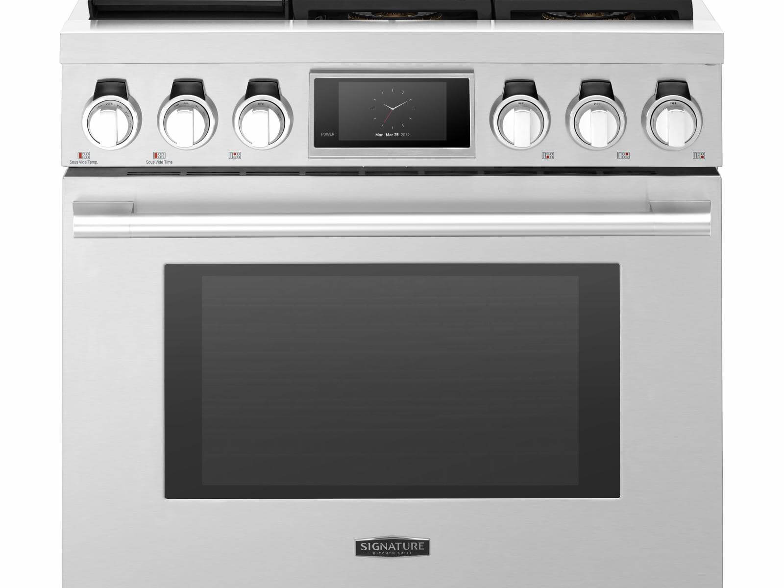 36-inch Dual-Fuel Pro Range with Steam-Assist Oven and Sous Vide