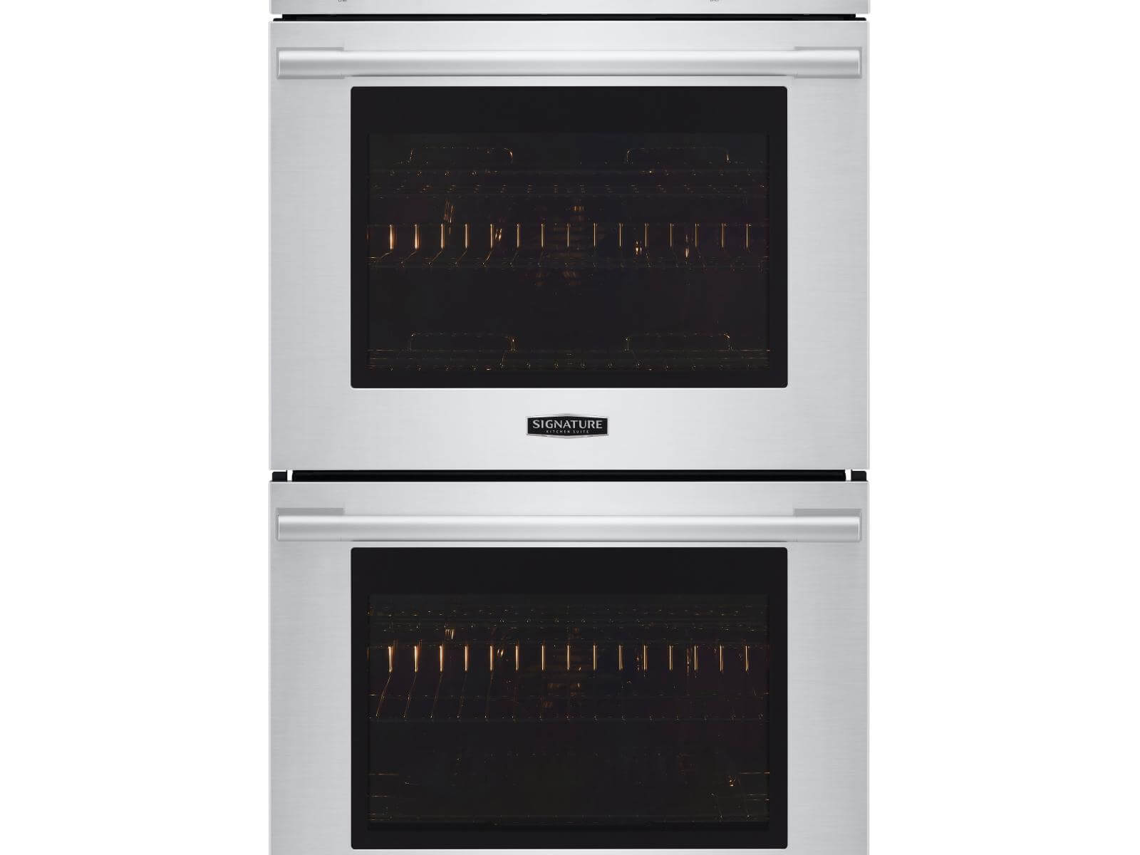 Double Wall Oven with Steam Assist