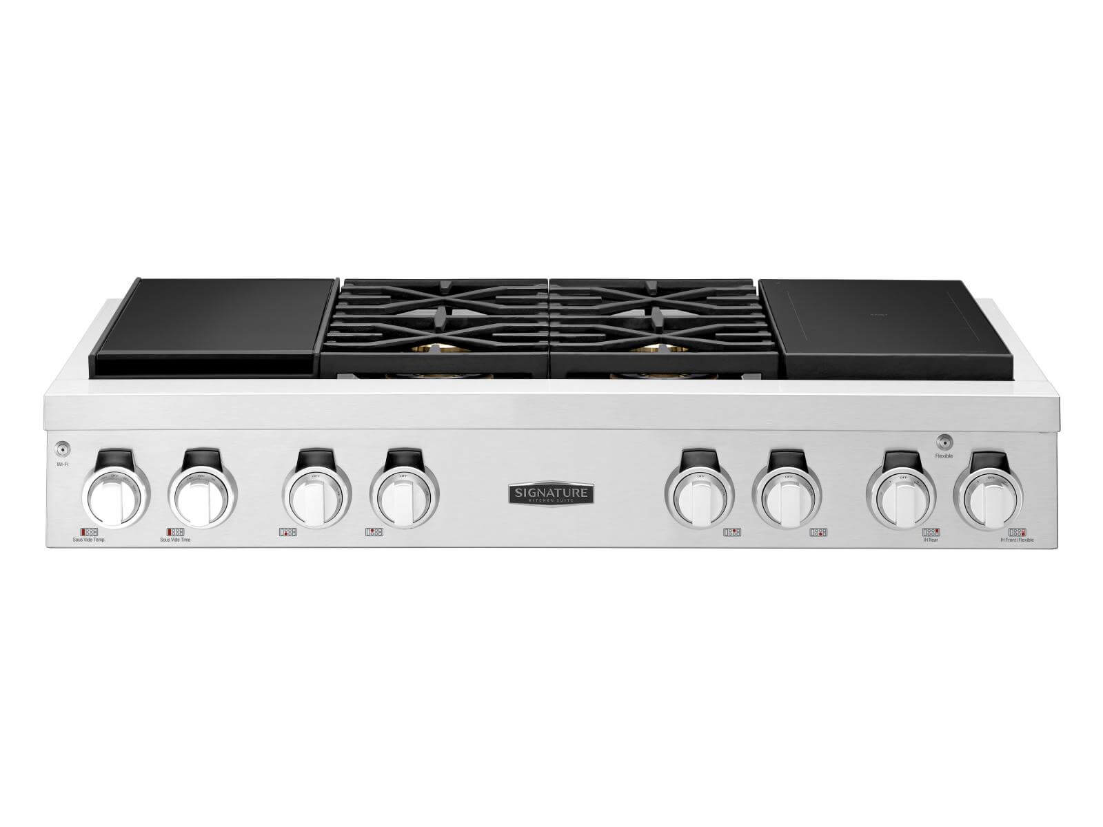 48-inch Pro Rangetop with Sous Vide and Induction
