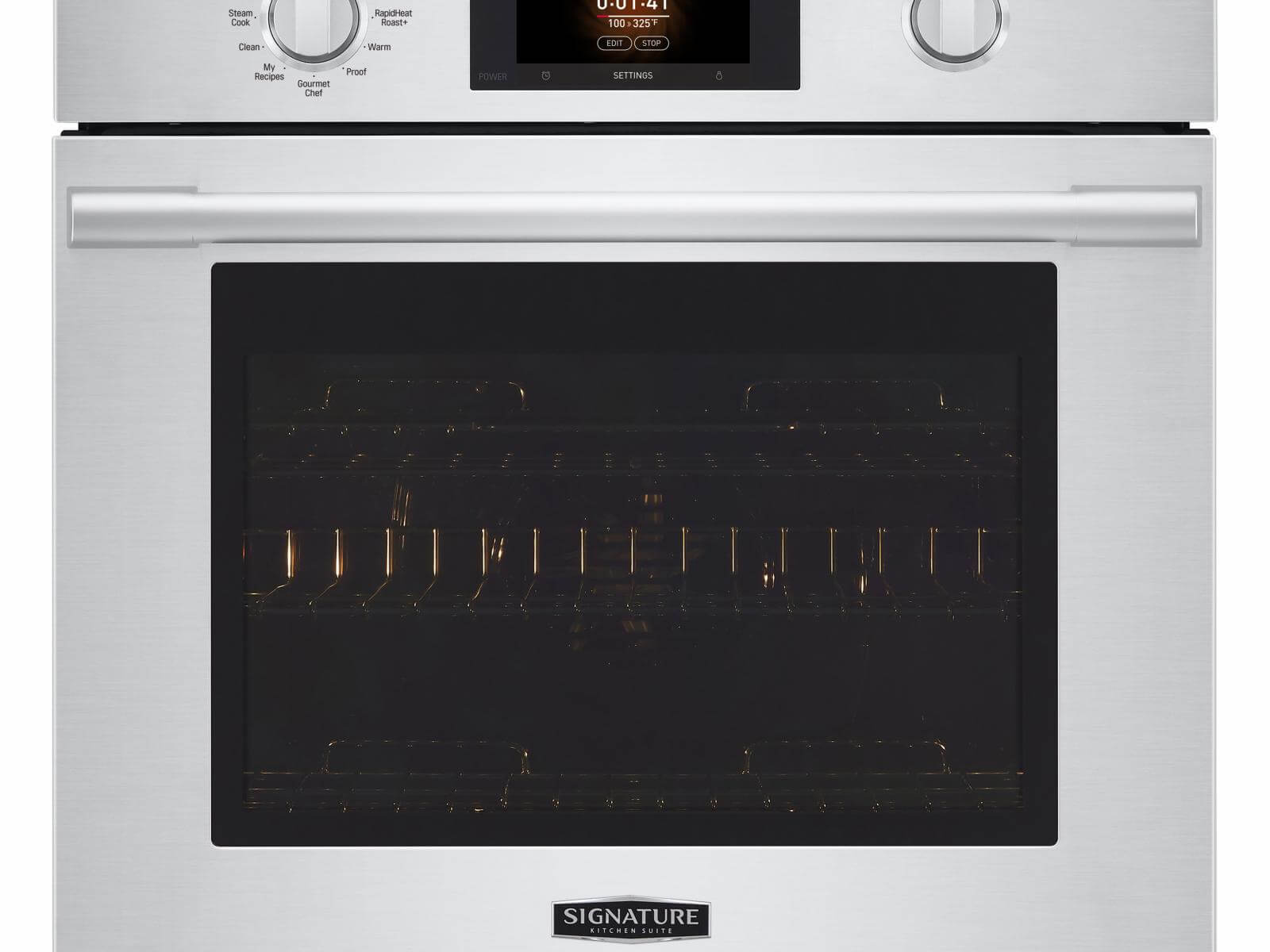 Single Wall Oven with Steam Assist