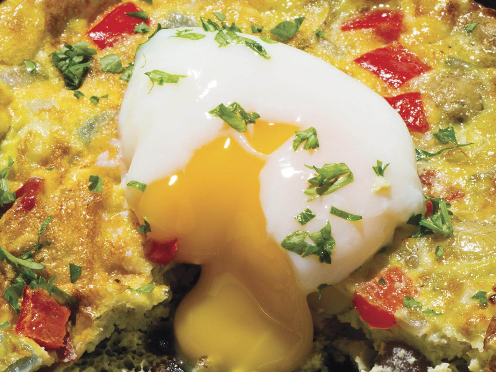 Cast Iron Frittata with the Perfect Egg | Signature Kitchen Suite