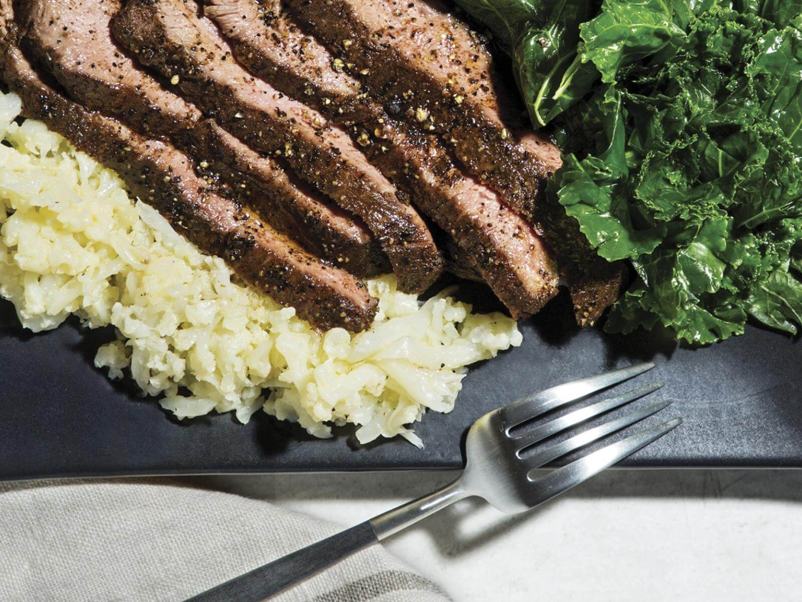 Coffee-Rubbed Flat Iron Steak | Signature Kitchen Suites