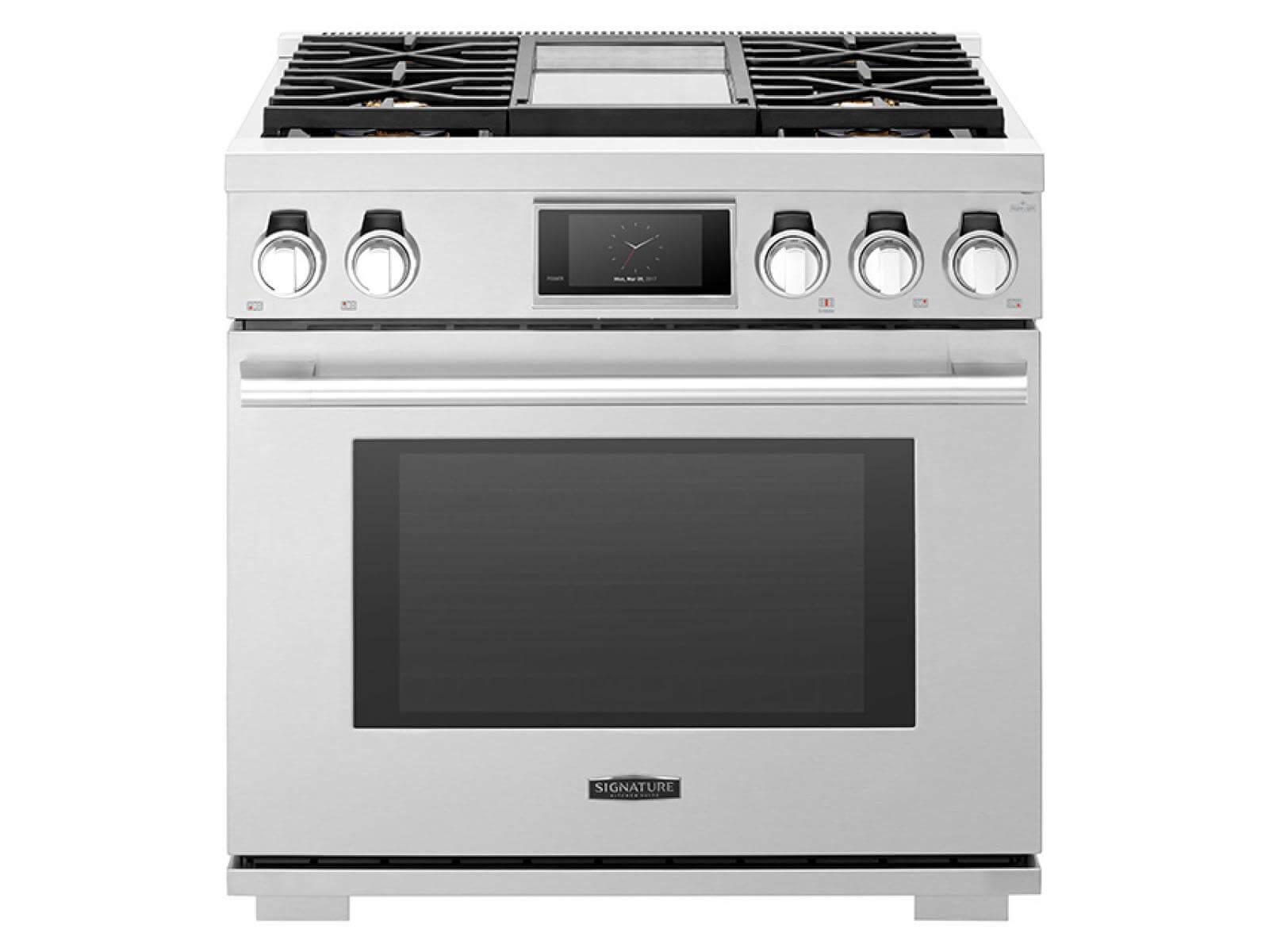 Cuisinière professionnelle biénergie 91 cm |  Signature Kitchen Suite