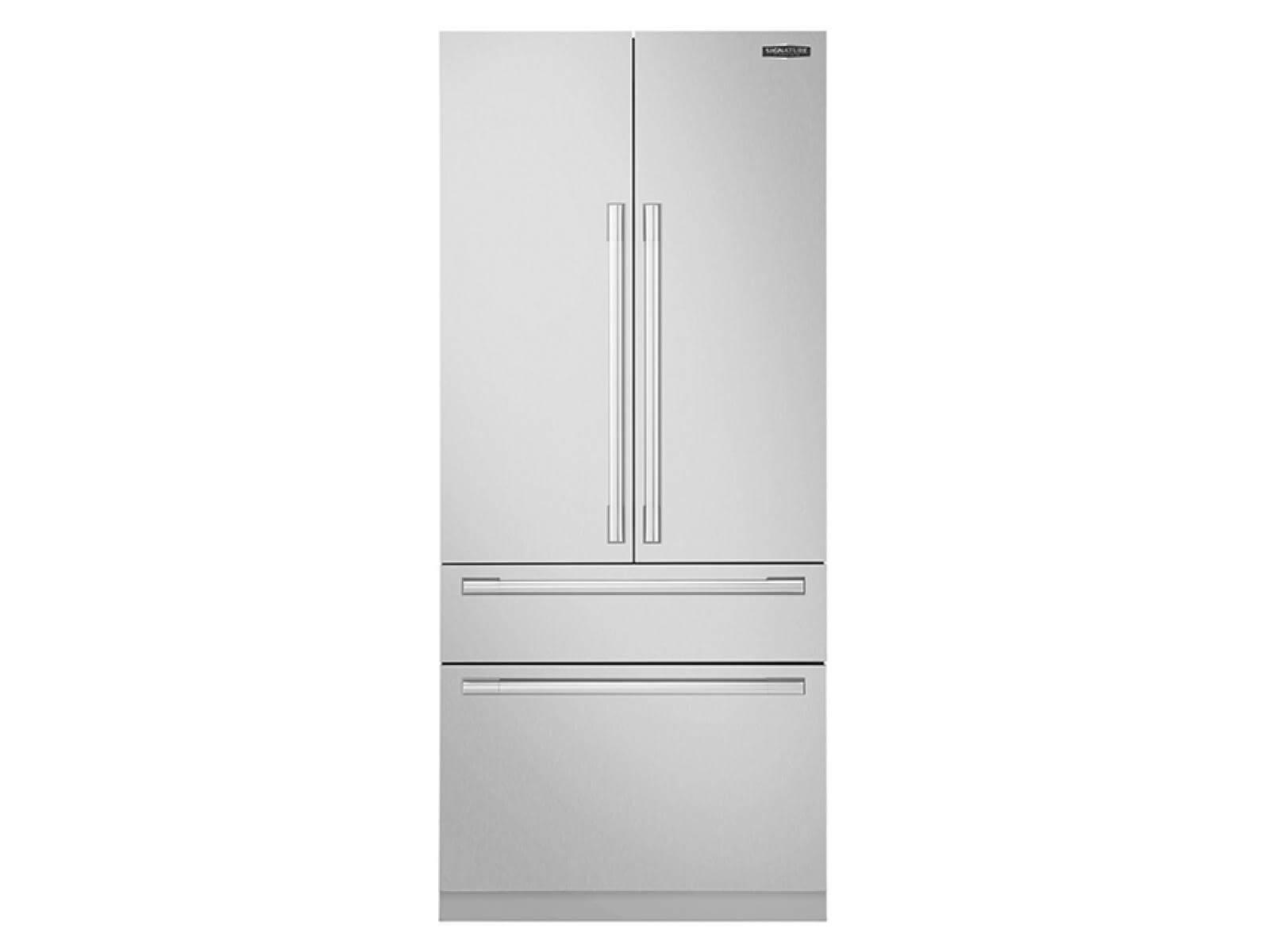Réfrigérateur à double porte encastré de 36po